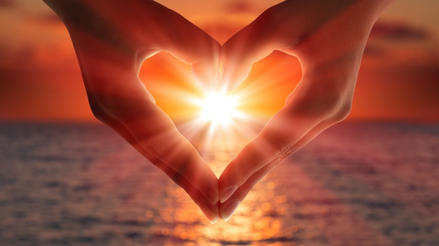 sunset-hands-heart-love-light